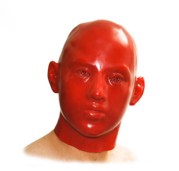 Anatomische Latexmaske 40112 P24140